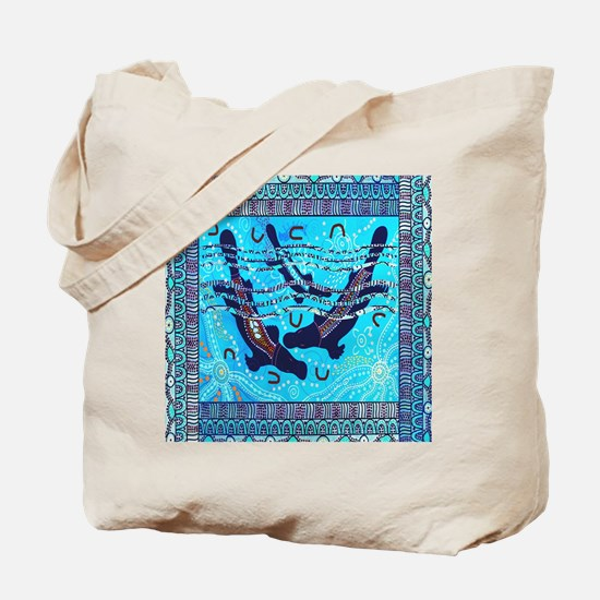 Two Platypus Tote Bag