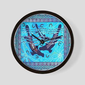 Two Platypus Wall Clock