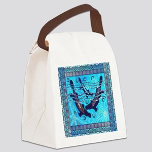 Two Platypus Canvas Lunch Bag