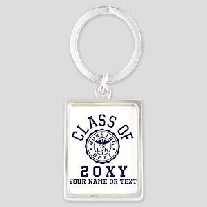 Class of 20?? Nursing Portrait Keychain