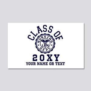 Class of 20?? Nursing 20x12 Wall Decal