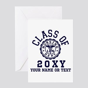Class of 20?? Nursing Greeting Card