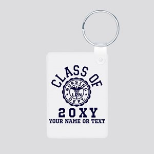 Class of 20?? Nursing Aluminum Photo Keychain