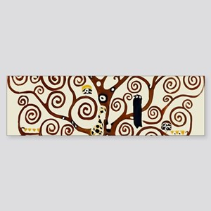 Klimt tree of life Bumper Sticker