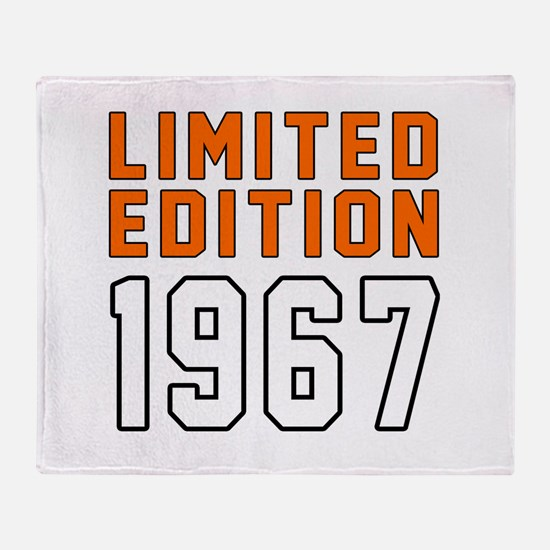 Limited Edition 1967 Throw Blanket