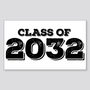 Class of 2032 Sticker (Rectangle)