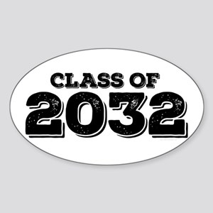 Class of 2032 Sticker (Oval)