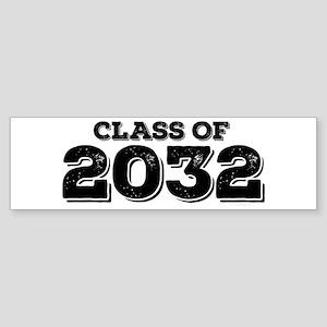 Class of 2032 Sticker (Bumper)