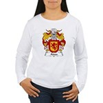 Ainsa Family Crest Women's Long Sleeve T-Shirt