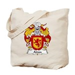 Ainsa Family Crest Tote Bag