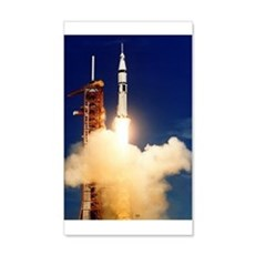 Launch Of Apollo's Saturn 1b Wall Decal