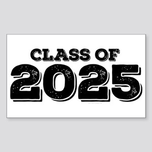 Class of 2025 Sticker (Rectangle)
