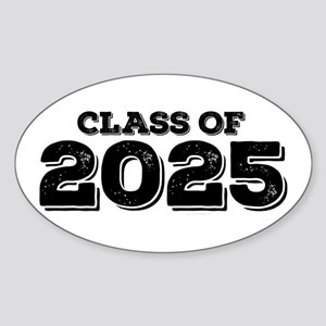 Class of 2025 Sticker (Oval)