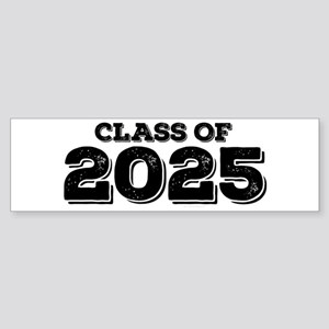 Class of 2025 Sticker (Bumper)