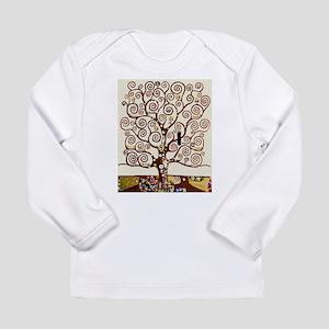 Klimt tree of life Long Sleeve T-Shirt
