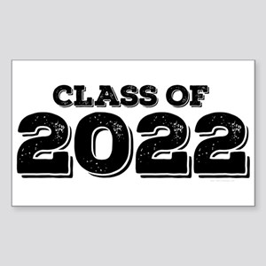 Class of 2022 Sticker (Rectangle)