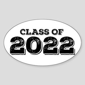 Class of 2022 Sticker (Oval)