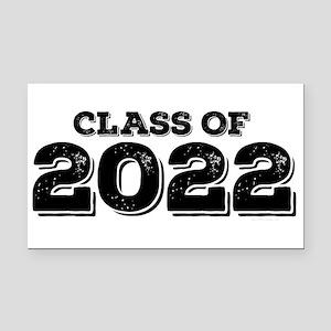Class of 2022 Rectangle Car Magnet