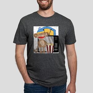 movie night sock monkey T-Shirt