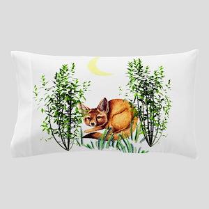 Cute Fox in Grasses Pillow Case