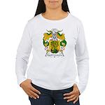 Aguirrezazona Family Crest Women's Long Sleeve T-S