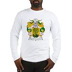 Aguirrezazona Family Crest Long Sleeve T-Shirt