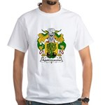 Aguirrezazona Family Crest White T-Shirt