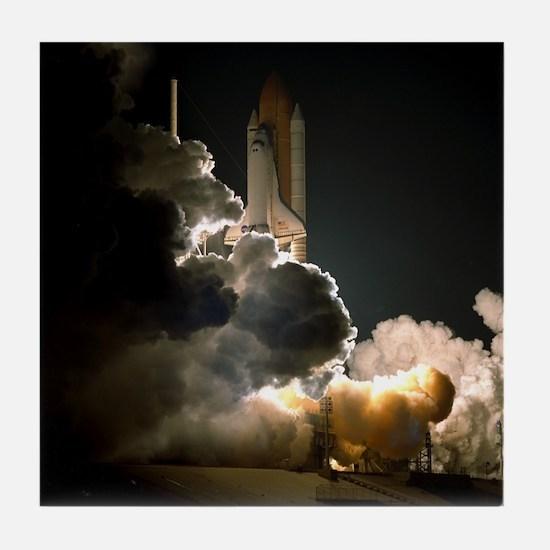 STS-104 Launch of Space Shuttle Atlantis Tile Coas