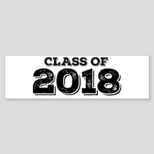 Class of 2018 Sticker (Bumper)