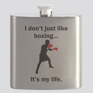 Boxing Its My Life Flask