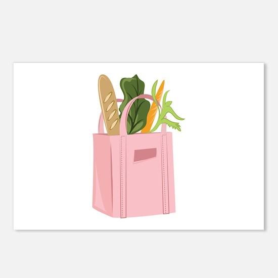 Bag Of Groceries Postcards (Package of 8)