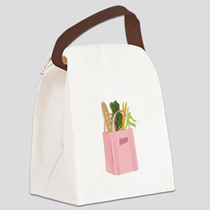Bag Of Groceries Canvas Lunch Bag