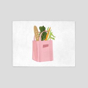 Bag Of Groceries 5'x7'Area Rug