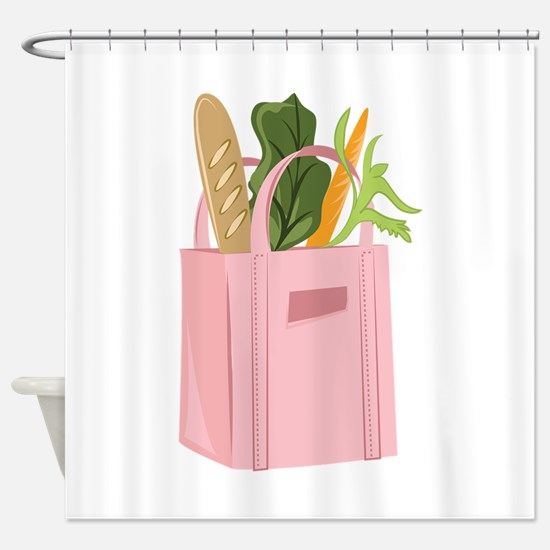 Bag Of Groceries Shower Curtain