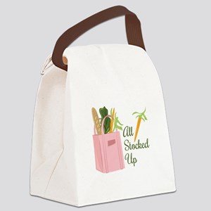 Stocked Up Canvas Lunch Bag