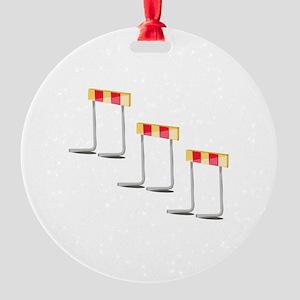 Race Hurdles Ornament