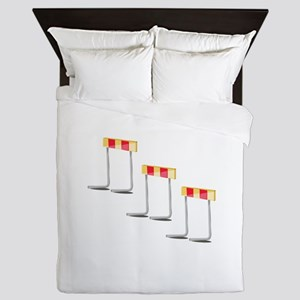 Race Hurdles Queen Duvet
