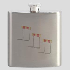 Race Hurdles Flask