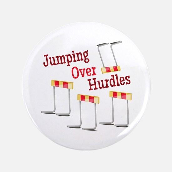 Jumping Hurdles Button