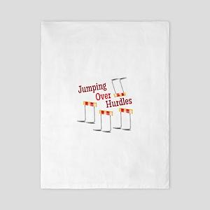 Jumping Hurdles Twin Duvet