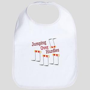 Jumping Hurdles Bib
