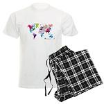 World Rainbow Men's Light Pajamas
