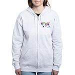 World Rainbow Women's Zip Hoodie