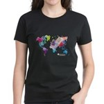 World Rainbow Women's Dark T-Shirt