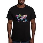 World Rainbow Men's Fitted T-Shirt (dark)