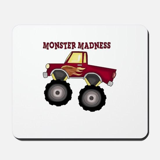 Monster Truck Madness Mousepad