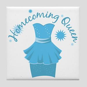 Homecoming Queen Tile Coaster