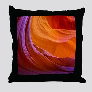 ANTELOPE CANYON 2 Throw Pillow