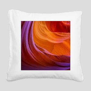 ANTELOPE CANYON 2 Square Canvas Pillow