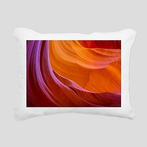 ANTELOPE CANYON 2 Rectangular Canvas Pillow